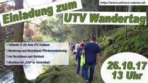 UTV Wandertag